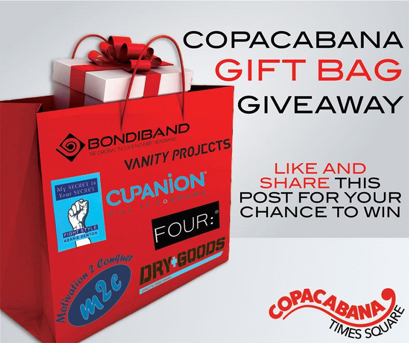 Copacabana-Gift-Bag-Times-Square-NYC