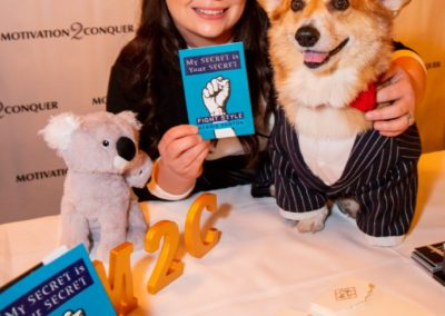 Even the Super Corgi Jo Jo who is a huge social media influencer not only loves Kerrie's book but Belinda too.