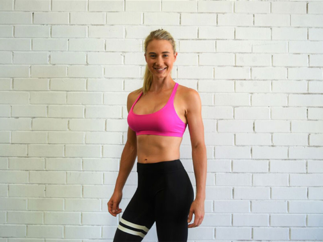 The gorgeous Amy Benn. Personal Trainer and huge supporter of M2C.