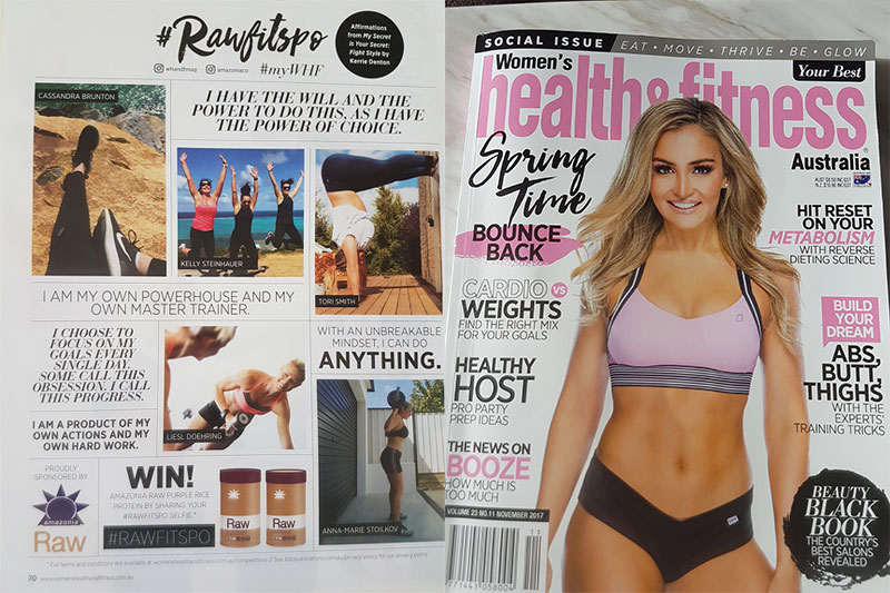 Women's Health & Fitness selects their favourite affirmations from Kerrie's book.